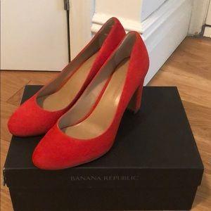 Red Banana Republic heels - Size 8.5